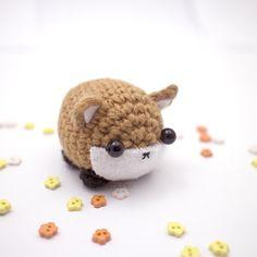 Little fox from móhu. #amigurumi #plush #fall