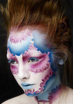 I love the layered/fading on this. Alex Box @Illamasqua Ltd Ltd Ltd Ltd
