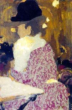 At the Café-Concert / Edouard Vuillard - circa 1898