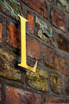 """The Letter """"L"""" by Vahan Aghajanyan. Cool Lettering, Cool Fonts, Industrial Signage, Industrial Chic, Sell My Art, Illuminated Letters, Cool Posters, Letters And Numbers, Wall Sculptures"""