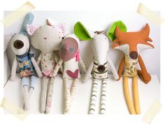 soft toys friendship | Flickr - PinkNounou