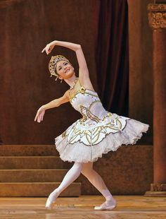 Yuhui Choe of the Royal Ballet in Nureyev's version of Raymonda | Photo by Dave Morgan