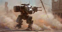 The Futuristic Sci-Fi Art of Alex Ichim Cyberpunk, Blade Runner, Power Rangers, Science Fiction, Future Soldier, Robot Concept Art, Futuristic Art, Futuristic Vehicles, Game Design