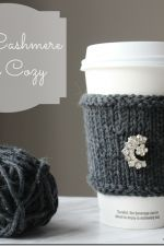 To celebrate Mother's day this year 10 amazing bloggers bloggers have joined me to hop across 10 fabulous blogs and share lots of inspiration and creativity! Today the blog hop lands at Setting for Four and I'm so excited to show you my Mother's Day gift idea! A Beautiful Cashmere DIY Cup Cozy! I also …