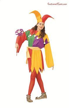 Court Jester (unisex) Costume