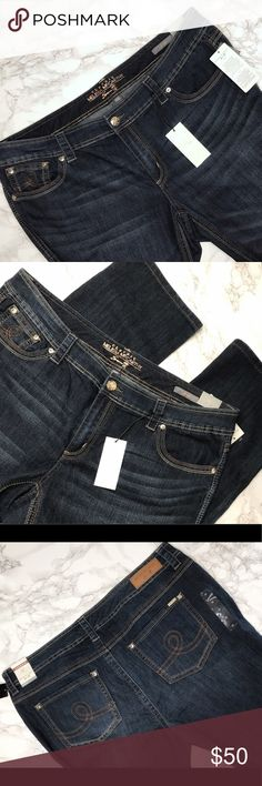 Lane Bryant - Melissa McCarthy Jeans Melissa McCarthy Seven7 straight leg jeans. Never worn - has original tags. Don't be shy to make an offer!  🐾 Pet Friendly Home! Melissa McCarthy Seven7 Jeans Straight Leg