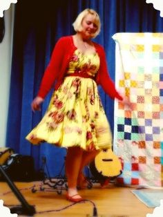 Little Yellow Sewing Box: Dancing on to new ground