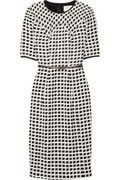 Belted tweed and bouclé dress by Jason Wu