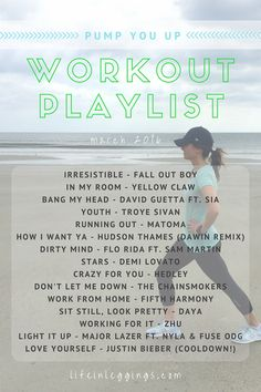 Still feeling the winter blues? Stream and download this upbeat music playlist to get you motivated and back into your workout grind!