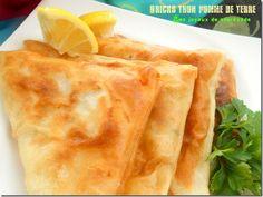 Bricks au thon et pommes de terre - Les Joyaux de Sherazade