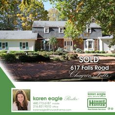 This Chagrin Falls, Ohio home is sold! Congratulations to the sellers and new owners!