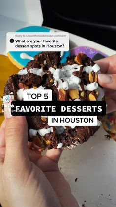 Frozen Desserts, Summer Desserts, Fun Desserts, Fun Places To Go, Beautiful Places To Travel, Houston Food, Vacations To Go, Perfect Road Trip, Food Places