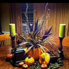 tablescapes for fall decorating | My Fall Tablescape