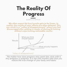In the early and middle stages of weight loss quest, there is often a Valley of Disappointment. You expect to lose weight in a linear fashion and it's frustrating how ineffective changes can seem during the first days, weeks, and even months. It's a hallmark of any compounding process: the most powerful outcomes are delayed. So no matter how slow the weight loss progress may seem like, keep pushing. Don't friggn' stop. #weightlosstips #weightloss