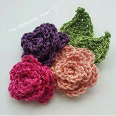 Pretties for Spring: Crochet Rose