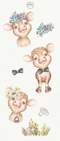 45+ Cute Baby Farm Animals Clipart