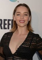 Emilia Clarke  REFUGEE Exhibit at Annenberg Space For Photography in Century City 4212016 April 22 2016 at 05:37PM