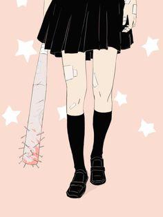 This 💎 pastel gothic goth cute anime manga unicorn unicorns Aesthetic Images, Pink Aesthetic, Girl Gang Aesthetic, Gore Aesthetic, Aesthetic Drawing, Aesthetic Anime, Dibujos Dark, Manga Anime, Anime Art
