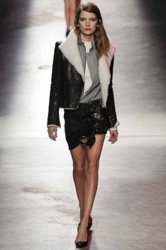 Anthony Vaccarello ready-to-wear autumn/winter '14/'15 gallery - Vogue Australia