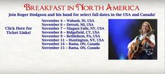 Join Roger and his band in the USA and Canada for spectacular shows in November - the last shows of the year! We hope to see you! https://www.facebook.com/rogerhodgson/photos/a.397476240263405.100564.133716103306088/860910320586659/?type=1&theater