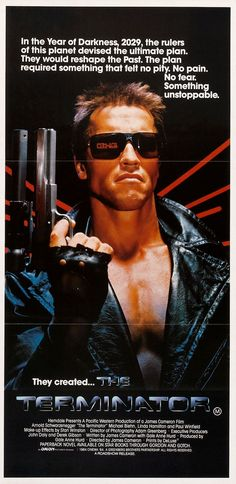 """The Terminator"" (1984) Directed by James Cameron/ starring Arnold Schwarzenegger, Linda Hamilton & Michael Biehn"
