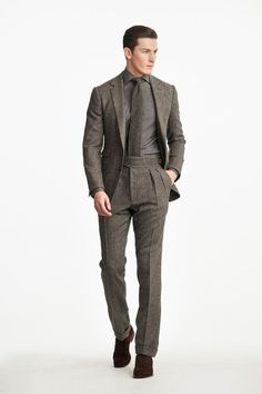 The best international designers, contemporary fashion, unique vintage clothing and more available at Luxury and Vintage Madrid - Express shipping worldwide Male Fashion Trends, Mens Fashion, Ralph Lauren Suits, Elegant Man, Lakme Fashion Week, Fashion 2018, Male Model, Vogue Russia, Costume