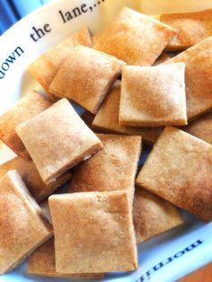 ノンオイル、ノンバター♪甘さ控えめでパリッパリのクッキーです♡妊娠期・授乳期やダイエット中のおやつに(^o^)