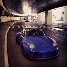 Riviera Blue RWB Porsche 993
