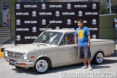 Well, Richard Opiana's 1991 Nissan Sunny Truck is that one ride that will stop you in your tracks, and make you take a closer look. Nissan Sunny, Mercedes Benz Cars, Car Photography, Pinoy, Old Cars, Sunnies, Trucks, Car Stuff, Pride
