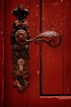 They swapped places behind the red door with the easy fluidity of two people who knew each other's movements before they were made.