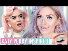 KATY PERRY Chained To The Rhythm  INSPIRED MAKEUP  EASY & WEARABLE - YouTube