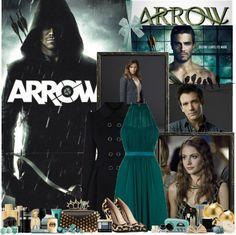 """Arrow"" by hannahrox313 ❤ liked on Polyvore"