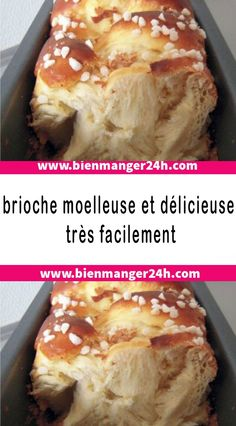 brioche moelleuse et délicieuse très facilement The recipe that we present to you today will allow you to easily make a fluffy and shooting brioche at will. Healthy Breakfast Recipes, Snack Recipes, Dessert Recipes, Cooking Recipes, Snacks, Crockpot Recipes For Two, Sweet Recipes, Fancy Desserts, Cooking Chef