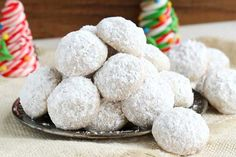 Melt in your mouth buttery and delicious, these snowball cookies are a special treat year round. Great make-ahead cookie as they freeze well. Buttery Cookies, Vanilla Cookies, Sugar Cookies, Shortbread Cookies, Madelines Cookies, Annie's Cookies, Moon Cookies, Pecan Cookies, Caramel Cookies
