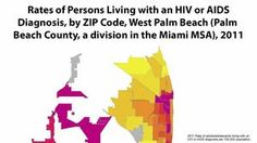 Online mapping tool shows HIV/AIDS hot spots