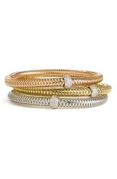 Roberto Coin Diamond Bangle Bracelet