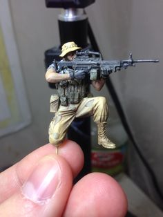 The finished SOF SAW gunner