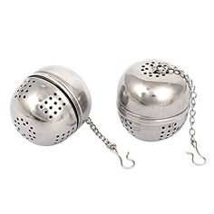 uxcell Stainless Steel Infuser Strainer Mesh Locking Tea Ball Filter 2 Pcs -- Read more  at the image link.