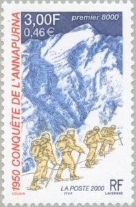 Fiftieth anniversary of the conquest of Annapurna by Maurice