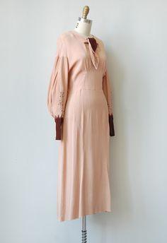 vintage 1930s dress | vintage 30s dress | vintage 1930s hollywood starlet dress