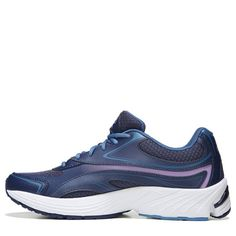 Ryka Women's Infinite Medium/Wide Walking Shoes (Blue/Lilac)
