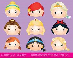 This item is unavailable Tsum Tsum Party, Disney Tsum Tsum, Kawaii Disney, Disney Diy, Chibi Disney, Disney Crafts, Tsum Tsum Display Ideas, Tsum Tsum Princess, Easy Disney Drawings