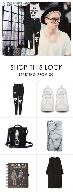 """Happy Birthday Jonghyun  ^^"" by theycallmebeatriz ❤ liked on Polyvore featuring Topshop, Reebok, Zana Bayne and MANGO"