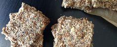 Crackers de semillas y hierbas aromáticas