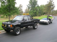I wanted this truck when I was a kid: BACK TO THE FUTURE MARTY MCFLY 1985 TOYOTA PICKUP 4X4
