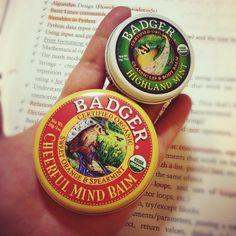 .@kayoung915 | New #badger #balm smell soooo good!! #badgerbalm #organic #lipbalm
