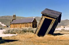 Bodie California. Go to the link on this site to see a guide to hundreds of ghost towns by state.