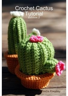 crochet cactus succulents crafting plant