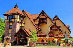 Скачать обои цветы, Alsace, дом, Франция, дизайн, раздел город в разрешении 3000x2000