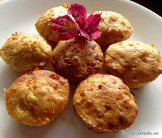 Muffins salados de queso